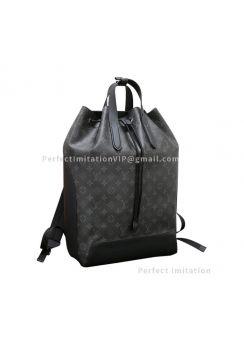Louis Vuitton Monogram Eclipse Canvas Backpack Explorer M40527
