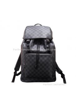 Louis Vuitton Zack Backpack Damier Graphite Canvas N40005