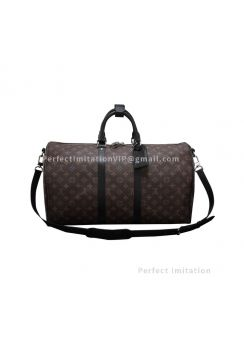 Louis Vuitton Dun Monogram Revelation Keepall 45 M56712
