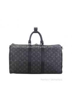 Louis Vuitton Keepall Bandouliere 45 Monogram Eclipse Canvas M40569