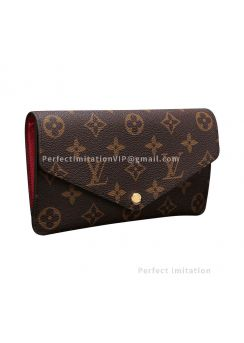 Louis Vuitton Louis Vuitton Jeanne Wallet Monogram Canvas M62202