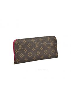 Louis Vuitton Monogram Canvas Insolite Wallet Fuchsia M66701
