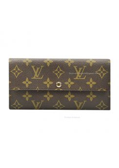 Louis Vuitton Monogram Canvas Pochette Wallet M61734