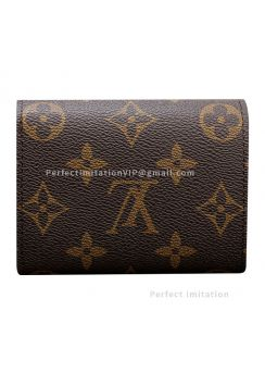 Louis Vuitton Monogram Canvas Helene Wallet M60253