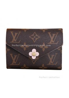 Louis Vuitton Monogram Canvas Victorine Wallet M64200