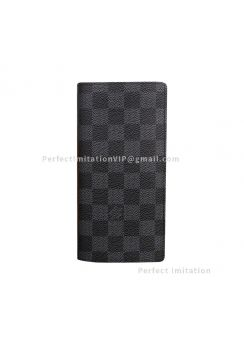 Louis Vuitton Brazza Wallet N62665 black