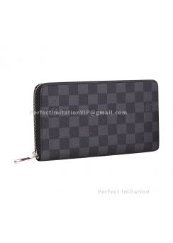 Louis Vuitton Zippy Organizer N63077 black