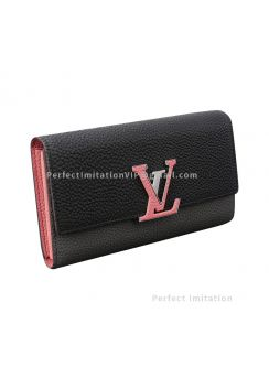 Louis Vuitton Capucines Taurillon Leather Wallet M62128