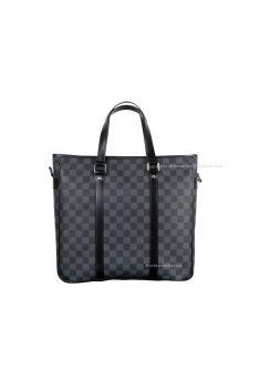 Louis Vuitton Damier Graphite Canvas Tadao PM Business Bag N41259