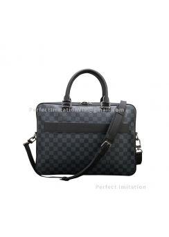 Louis Vuitton Damier Cobalt Porte Documents Business N41347