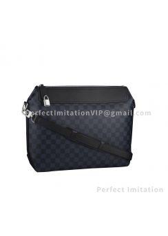 Louis Vuitton Shoulder Bag Messenger Greenwich Damier Cobalt Navy N41348
