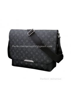 Louis Vuitton Monogram Eclipse Canvas Messenger MM Explorer M40539