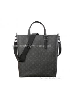 Louis Vuitton Tote Bag Monogram Eclipse Apollo Thoth M43421