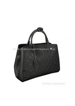 Louis Vuitton Montaigne MM M41048 in Monogram Empreinte Leather