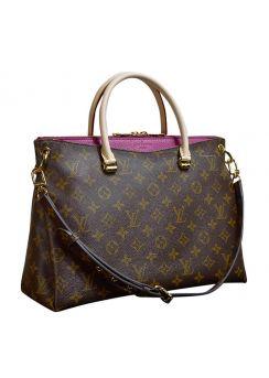 Louis Vuitton M41633 Pallas Tote Bag Monogram Canvas