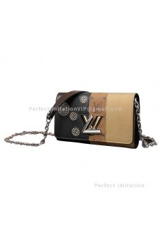 Louis Vuitton Premium Twist Chain Handbag M64478