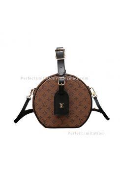 Louis Vuitton Petite Boite Chapeau Monogram Reverse M43510