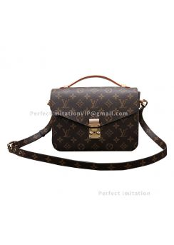 Ultimate Louis Vuitton Monogram Canvas Pochette Metis M40780
