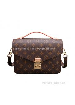 High-End Louis Vuitton Monogram Canvas Pochette Metis M40780