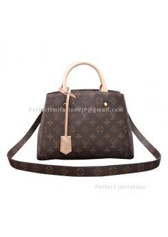 Ultimate Louis Vuitton Monogram Canvas Montaigne BB M41055
