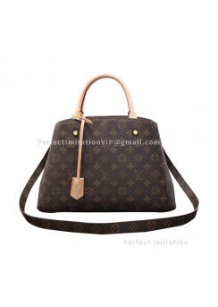 Ultimate Louis Vuitton Monogram Canvas Montaigne MM M41056