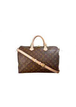 Louis Vuitton Speedy 35 with shoulder strap M40392
