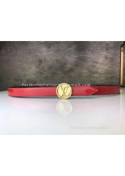 LV Circle 25mm Reversible Belt 185402