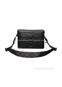 Louis Vuitton Messenger PM Dark Infinity Leather M52176