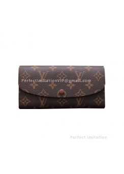 Louis Vuitton Monogram Canvas Emilie Wallet M61290
