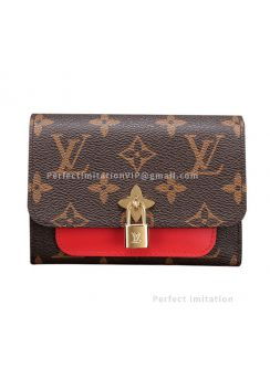 Louis Vuitton Flower Compact Wallet Monogram Canvas M62567