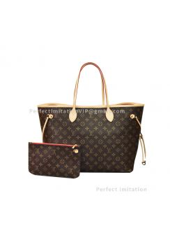 High-End Louis Vuitton Monogram Canvas Neverfull GM M41181