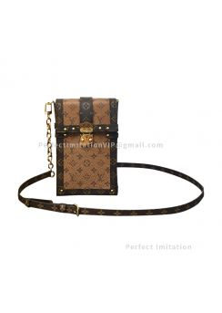 Louis Vuitton Vertical Trunk Pochette M67873