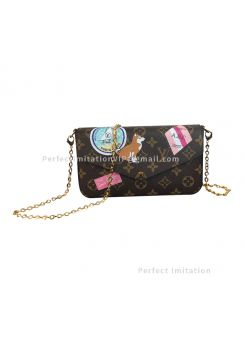 Louis Vuitton Pochette Felicie My LV World Tour P00181