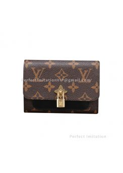 Louis Vuitton Flower Compact Wallet M62578