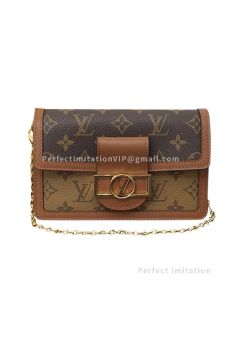 Louis Vuitton Dauphine Chain Wallet M68746