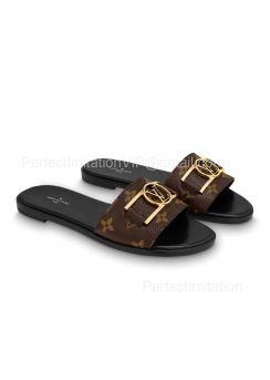 Louis Vuitton Lock It Flat Mule 1A64MN 201837