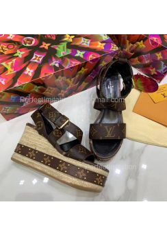 Louis Vuitton Boundary Wedge Sandal 201848
