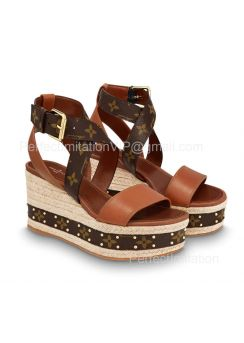 Louis Vuitton Boundary Wedge Sandal 1A63W5 201849