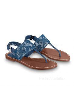 Louis Vuitton Starboard Flat Thong Sandal 1A7RDP 201853