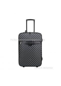 Louis Vuitton Damier Graphite Canvas Pegase 60 Suitcase N23298